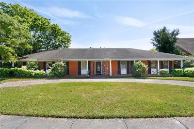 New Orleans Single Family Home For Sale: 1516 Lakeshore Drive