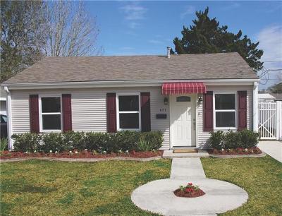 River Ridge, Harahan Single Family Home For Sale: 471 Gordon Avenue