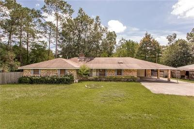 Slidell Single Family Home For Sale: 40774 Ranch Road
