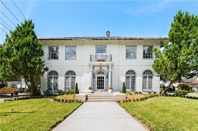 New Orleans Single Family Home For Sale: 58 Fontainebleau Drive