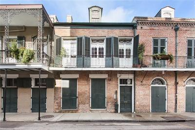 New Orleans Single Family Home For Sale: 1139 Royal Street
