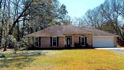 Madisonville Single Family Home For Sale: 1713 W Highway 22 Highway