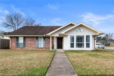 Destrehan, St. Rose Single Family Home For Sale: 3729 Tara Drive