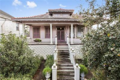 New Orleans Single Family Home For Sale: 1828 Ursulines Avenue