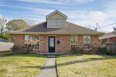 Metairie Single Family Home For Sale: 4625 Sonfield Street