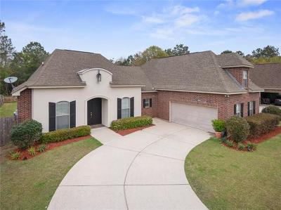 Madisonville Single Family Home For Sale: 825 Sandfox Run