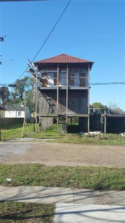 New Orleans Multi Family Home For Sale: 9016 Pear Street