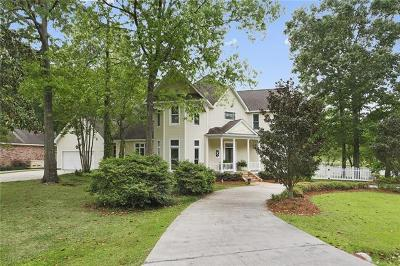 Mandeville Single Family Home For Sale: 800 Tete L'ours Drive