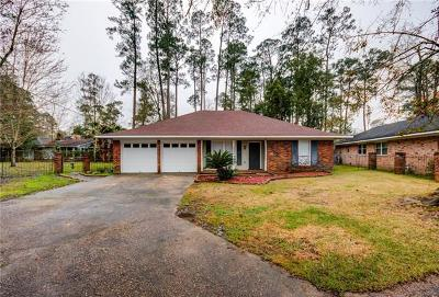 Slidell Single Family Home For Sale: 664 Dale Court