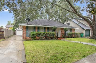 River Ridge, Harahan Single Family Home For Sale: 10112 Lucy Court