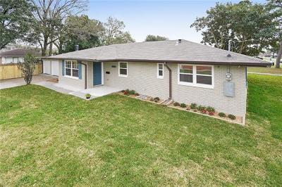 Metairie Single Family Home For Sale: 1525 Kent Avenue
