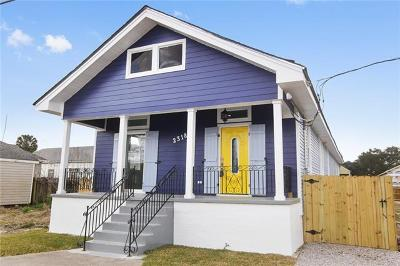 New Orleans Single Family Home For Sale: 2318 Eads Street