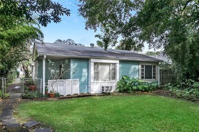 New Orleans Single Family Home For Sale: 41 Wren Street