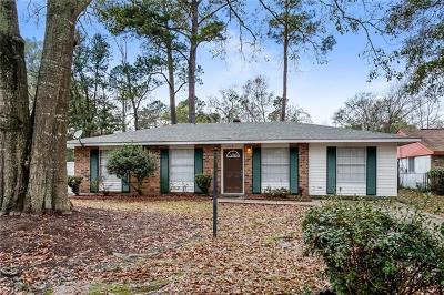 Slidell Single Family Home For Sale: 218 Oriole Drive