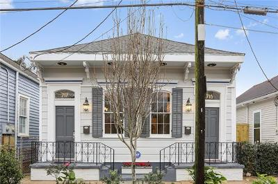 New Orleans Multi Family Home For Sale: 715 Alvar Street
