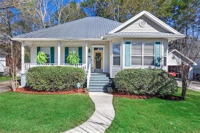 Madisonville LA Single Family Home For Sale: $210,000
