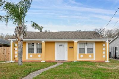 New Orleans Single Family Home For Sale: 3837 Virgil Boulevard