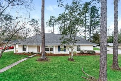 Slidell Single Family Home For Sale: 183 W Pinewood Drive