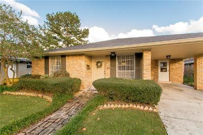 Metairie Single Family Home For Sale: 5021 Alexander Drive