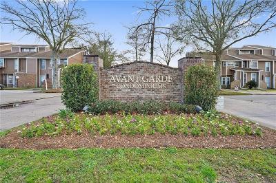 Kenner Multi Family Home For Sale: 18 Avant Garde Circle #18