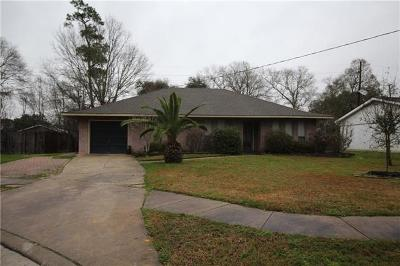 Slidell Single Family Home For Sale: 116 Woodcrest Drive