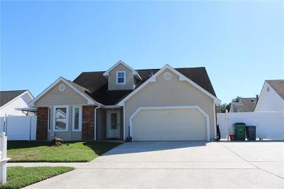Marrero Single Family Home For Sale: 2705 Midden Drive