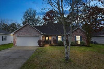 Mandeville Single Family Home For Sale: 2272 Biron Street