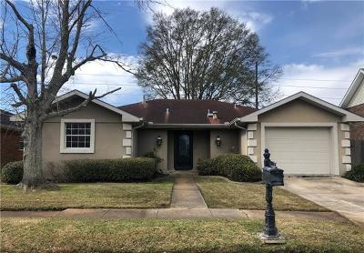 Kenner Single Family Home For Sale: 3711 W Grandlake Boulevard