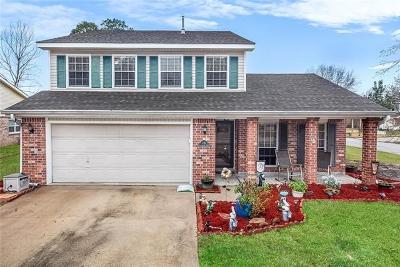 Slidell Single Family Home For Sale: 116 Cottonwood Court