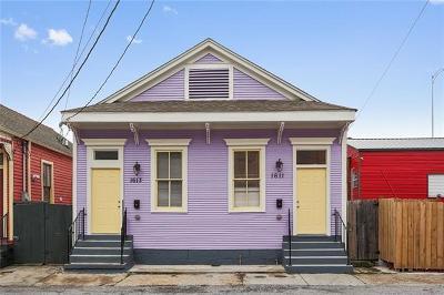 New Orleans Multi Family Home For Sale: 1611-13 Columbus Street