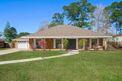 Slidell Single Family Home For Sale: 114 Herwig Bluff Road