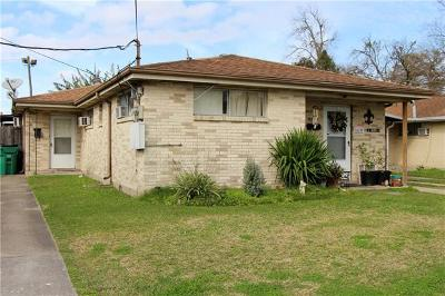 New Orleans Multi Family Home For Sale: 4329 Morris Place
