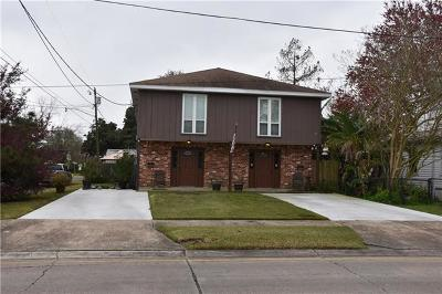 Jefferson Parish Multi Family Home For Sale: 3400 W Metairie Drive