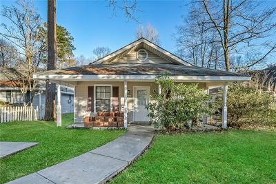 Mandeville Single Family Home For Sale: 1521 Lafitte Street