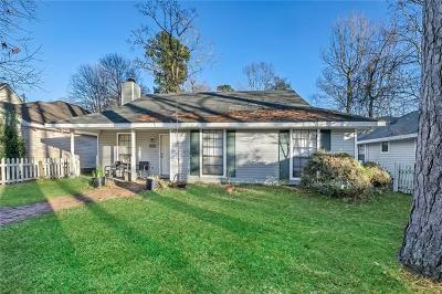 Single Family Home For Sale: 1523 Lafitte Street