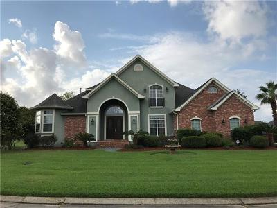 Slidell Single Family Home For Sale: 118 Islander Drive