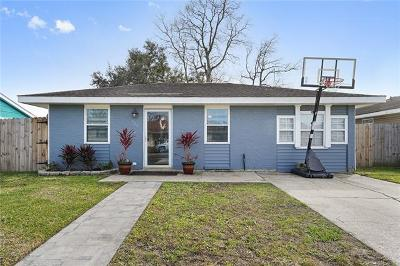 Kenner Single Family Home For Sale: 629 Cameron Court