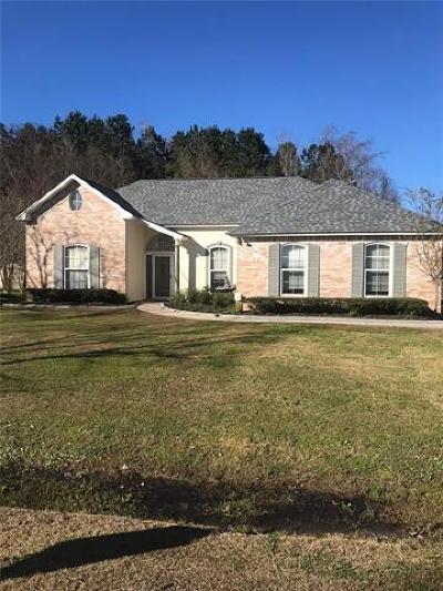 Madisonville Single Family Home For Sale: 201 Fairfield Oaks Drive