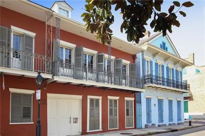French Quarter Multi Family Home For Sale: 1233 Bourbon Street