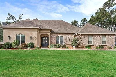 Madisonville LA Single Family Home For Sale: $549,900