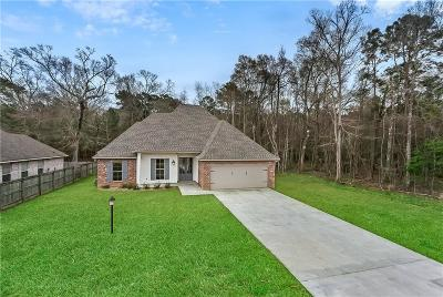 Madisonville Single Family Home For Sale: 161 Indian Trace Drive