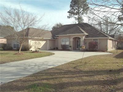 Slidell Single Family Home For Sale: 559 Waverly Drive