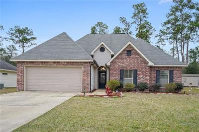 Slidell Single Family Home For Sale: 356 Mansfield Drive