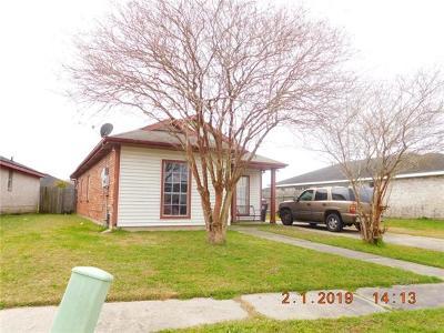 Single Family Home For Sale: 4920 Francisco Verret Street