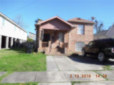 New Orleans Single Family Home For Sale: 2339 Pauline Street