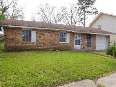 Marrero Single Family Home For Sale: 5809 Milladorn Avenue