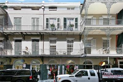 New Orleans Multi Family Home For Sale: 631 St Peter Street #4