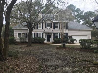 Single Family Home For Sale: 5050 Walden Place
