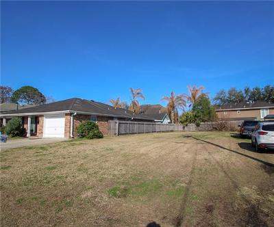 Metairie Residential Lots & Land For Sale: 4409 St Mary Street