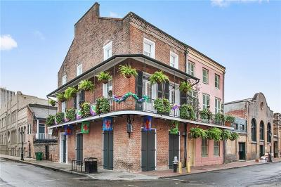 New Orleans Multi Family Home For Sale: 235 Burgundy Street #2
